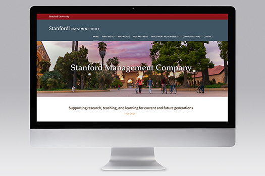 Stanford Management Company Website